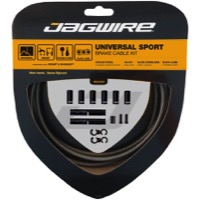 Jagwire Universal Sport Brake Cable/Housing Set - Sterling Silver