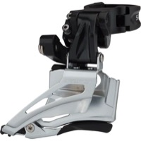 Shimano FD-M618-H Deore Double Front Derailleur - 2 x 10 Speed - 28.6/31.8/34.9 Multi Clamp (2 x 10)