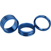 "Ciari Anelli 1 1/8"" Headset Spacer Kit - 1 1/8"" Kit (Blue)"