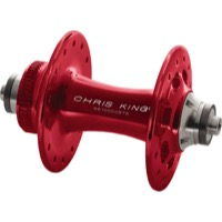 Chris King R45D Centerlock Front Hubs - 100mm x 9mm Quick Release x 32 Hole (Red)