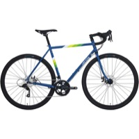 All-City Spacehorse Disc Complete Bike - Blue/White - 55cm, 700c Wheels (Blue/White)
