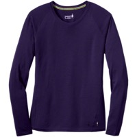 Smartwool Merino 150 Long Sleeve Base Layer Top - Mountain Purple - Medium (Mountain Purple)