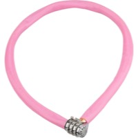 Kryptonite Keeper 665 Combo Cable Lock - 2.13' x 6mm - 2.13' x 6mm (Pink)