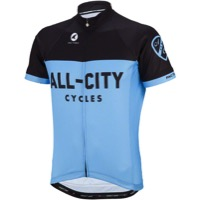 All-City Classic Jersey - Blue/Black - Large (Blue/Black)