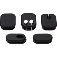 Salsa Frame Plugs - Thin Plugs for Internal Cable Routing (5-Pack)