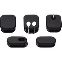 Salsa Frame Plugs - Thick Plugs for Internal Cable Routing (5-Pack)