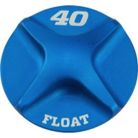 Fox Racing Fork External Small Parts - Valve Cap for 40 Forks (Blue)