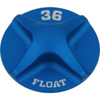 Fox Racing Fork External Small Parts - Valve Cap for 36 Forks (Blue)