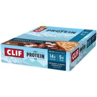 Clif Bar Whey Protein Bars - Coconut Almond Chocolate (Box of 8)