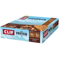 Clif Bar Whey Protein Bars - Salted Caramel Cashew (Box of 8)