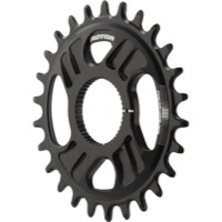 Rotor NoQ Direct Mount Round Chainrings - 26t (Black)