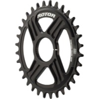 Rotor NoQ Direct Mount Round Chainrings - 32t (Black)