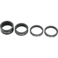 "RockShox UD Carbon Headset Spacer Set - 1 1/8"" Kit (Carbon Black)"