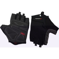 Bellwether Gel Supreme Men's Short Finger Gloves - Black - Small (Black)
