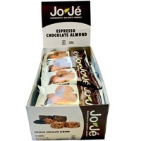 JoJe' Bars - Espresso Chocolate Almond (Box of 12)