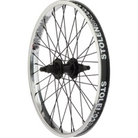 "Stolen Rampage Cassette Rear Wheels - Rear 20"" x 36h x 14mm Axle x 9t Driver, Right Hand Drive (Polished)"