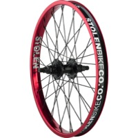 "Stolen Rampage Cassette Rear Wheels - Rear 20"" x 36h x 14mm Axle x 9t Driver, Right Hand Drive (Red)"