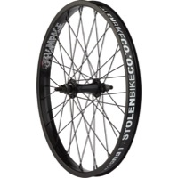 "Stolen Rampage Front Wheels - Front 20"" x 36h x 3/8"" Male Axle (Black)"