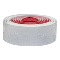 Supacaz Super Sticky Kush Bar Tape - White and Red