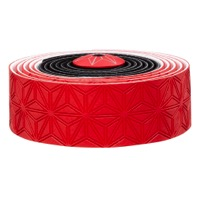 Supacaz Super Sticky Kush Bar Tape - Black and Red