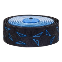 Supacaz Super Sticky Kush Bar Tape - Starfade Black and Blue