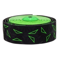 Supacaz Super Sticky Kush Bar Tape - Starfade Black and Green