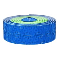 Supacaz Super Sticky Kush Bar Tape - Neon Green and Blue