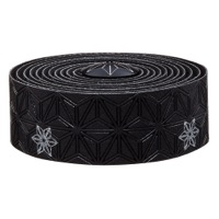 Supacaz Super Sticky Kush Bar Tape - Galaxy Black w/Silver