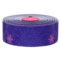 Supacaz Super Sticky Kush Bar Tape - Galaxy Purple w/Neon Pink