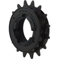 "Shimano MX Single Freewheel - 16t English Thread 3/32"" (Black)"