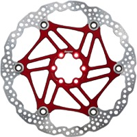 Hope Floating 2 Piece Rotors - 203mm 6-Bolt (Red)