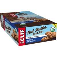Clif Bar Nut Butter Filled Bars - Blueberry Almond Butter (Box of 12)