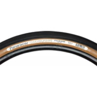 "Panaracer GravelKing Slick TR 27.5"" (650b) Tire - 27.5 (650b) x 48mm (Black Tread/Brown Sidewall)"