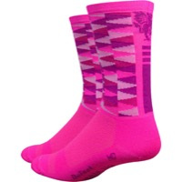 "DeFeet Aireator 6"" Mad Alchemy Socks - Candy Crush - X Large (Candy Crush)"