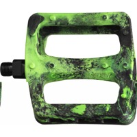 "Odyssey Twisted PC Pedals - 9/16"" - Pair (Fluorescent Green)"