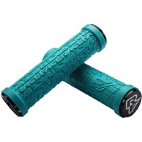 Race Face Grippler 30mm Lock On Grips - Pair (Turquoise)