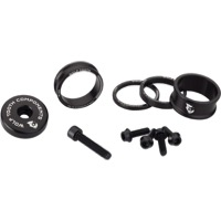 "Wolf Tooth Components Headset Bling Kit - 1 1/8"" Kit (Black)"