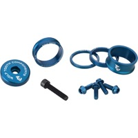 "Wolf Tooth Components Headset Bling Kit - 1 1/8"" Kit (Blue)"