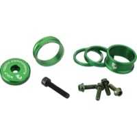 "Wolf Tooth Components Headset Bling Kit - 1 1/8"" Kit (Green)"