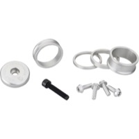 "Wolf Tooth Components Headset Bling Kit - 1 1/8"" Kit (Silver)"