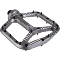 OneUp Components Aluminum Platform Pedals - Pair (Grey)