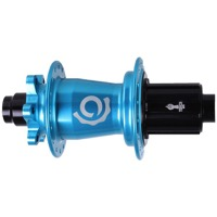 Industry Nine Torch HG 6-Bolt Disc Rear Hub - 142mm x 12mm Thru Axle x 32 Hole, Shimano HG (Turquoise)