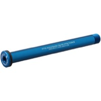 Wolf Tooth Components Fork Thru Axles - Rock Shox, 15x110mm Boost (M15 x 1.5mm Thread) Blue
