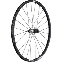 DT Swiss CR1600 db23 Spline Disc Wheels - 700c Rear, 10x135mm QR/12x142mm TA (Black)