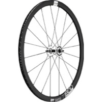 DT Swiss T 1800 Classic 32 Track Wheels - 700c Front, 9x100mm Bolt-On (Black/Silver)