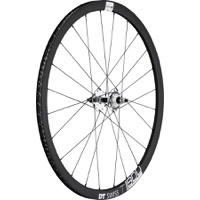 DT Swiss T 1800 Classic 32 Track Wheels - 700c Rear, 10x120mm Bolt-On (Black/Silver)