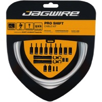 Jagwire Universal Pro Derailleur Cable/Housing - White