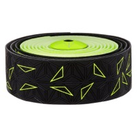 Supacaz Super Sticky Kush Bar Tape - Starfade Black and Yellow