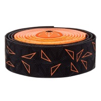 Supacaz Super Sticky Kush Bar Tape - Starfade Black and Orange