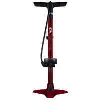 Crank Brothers Gem Floor Pumps - Red